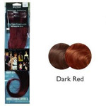 Balmain Clip Tape Extensions Human Hair,40cm, dark red