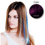 Balmain Fill-In Extensions Fiber Hair Straight- dark purple 10 S