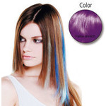 Balmain Fill-In Extensions Fiber Hair Straight-light purple