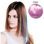 Balmain Fill-in Extensions Fiber Hair Straight- pink  10 Stück