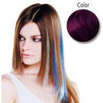 Balmain Fill-In Extensions Fiber Hair Straight- purple  10 Stück