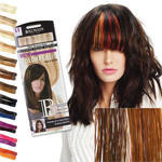 Balmain Color Flash Tape Extensions 25cm,dark red & warm cara