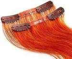 Balmain Clip Tape Extensions Human Hair,25cm, flame