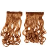 Balmain Clip in Complete Extension 60 cm Simply Brown MH Haarteil