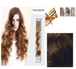 Balmain Fill-In Extensions Wavy 2 Dark Brown - 10 Strähnen