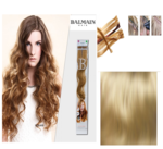 Balmain Fill-In Extensions Wavy 614 Natural Blond - 10 Strähnen