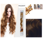 Balmain Fill-In Extensions Wavy 6 Light Mocca - 10 Strähnen