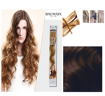 Balmain Fill-In Extensions Wavy 4 Medium Brown - 10 Str�hnen