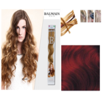 Balmain Fill-In Extensions Wavy 133 Dark Copper Blond - 10 Strähnen