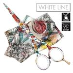 Jaguar White Line Blooms Collection Limited Edition Flower Field