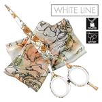 Jaguar White Line Blooms Collection Limited Edition Rose Garden
