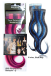 Balmain Tape Extensions 25cm, Blue Ray