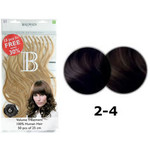 Balmain Extensions HH Valuepack 50 Stück 25cm L5 Light Brown Natural Straight